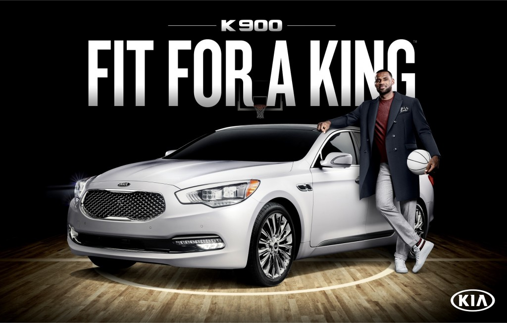 LEBRON JAMES SHINES THE SPOTLIGHT ON KIA?S FLAGSHIP SEDAN AS THE BRAND?S FIRST-EVER LUXURY AMBASSADOR