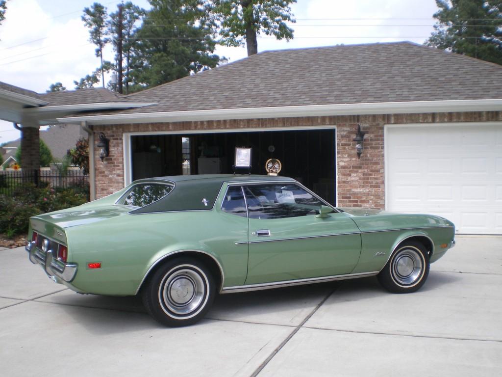 Mustang _ rear
