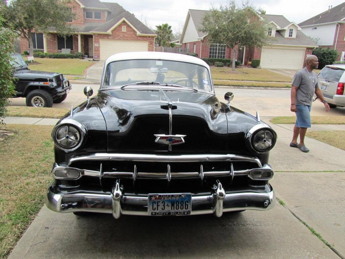 1954 Chevrolet Bel Air Front 54